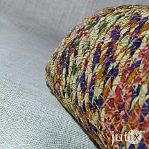 Кашпо плетеное цветное (текстильное), фото 2