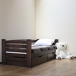 Ліжко дитяче дерев'яне Карлсон (масив бука)