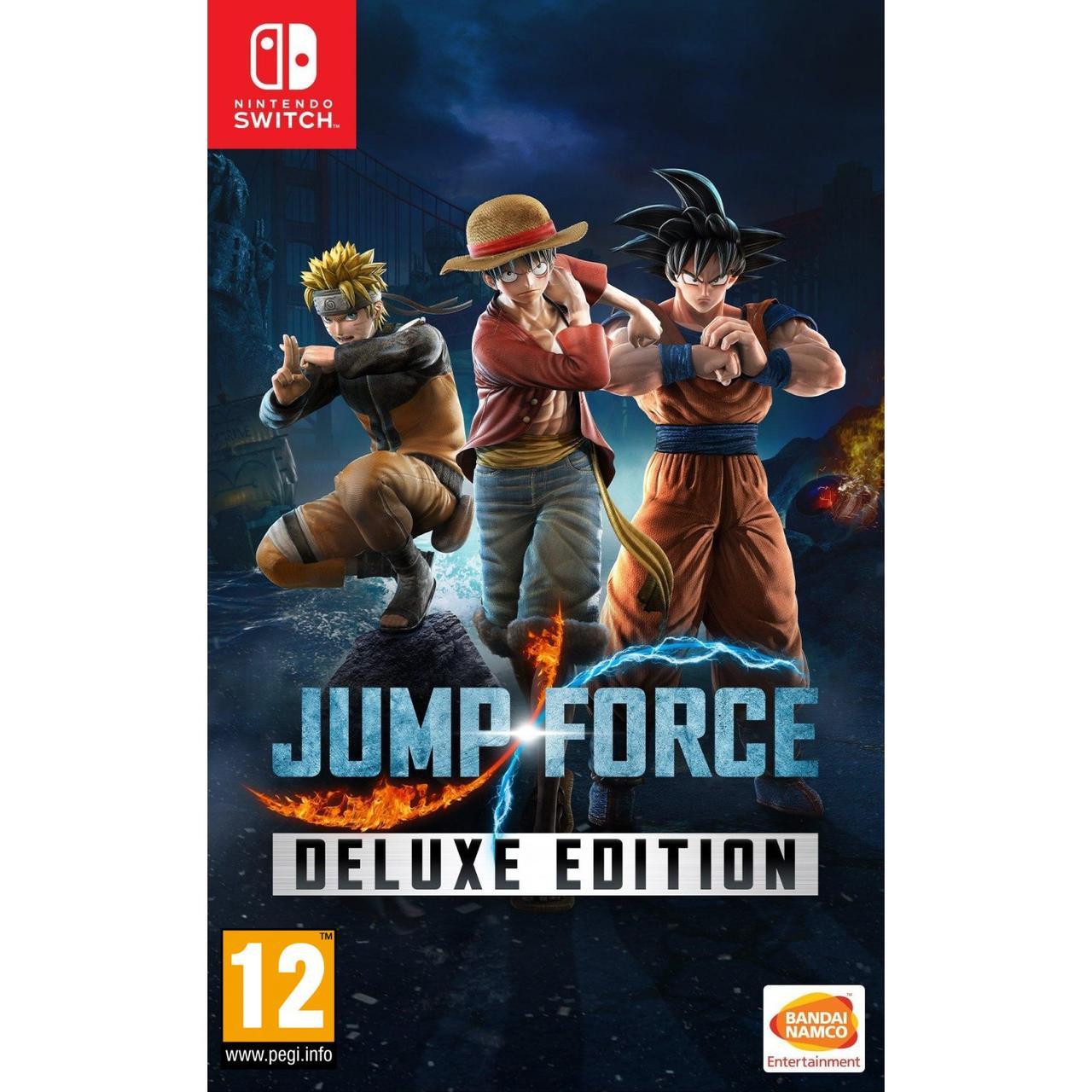 Jump Force Deluxe Edition (російські субтитри) Nintendo Switch