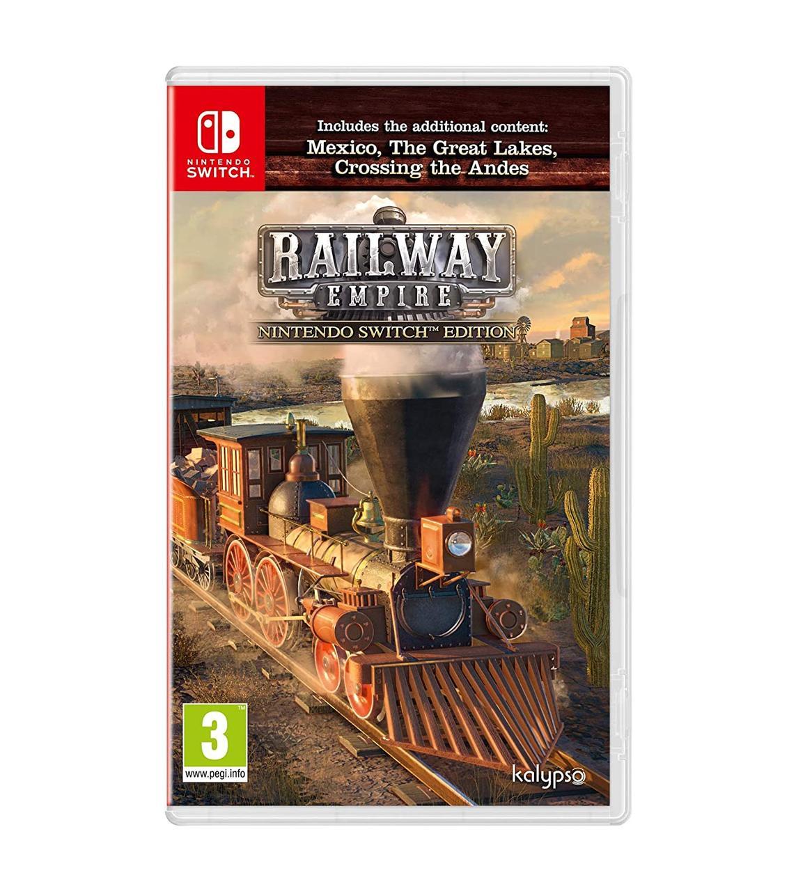 Railway Empire (русская версия) Nintendo Switch