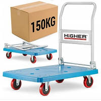 Транспортная тележка платформа Higher 150 кг