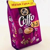 Кофе растворимый Cafe Dor с Coffe 3в1  216г (12шт х 18г)
