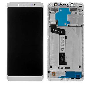 Модуль для Xiaomi Redmi Note 5, белый, дисплей + сенсор