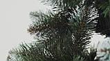 Штучна ялинка Снігова Королева 2.5 м зелена. Ялина засніжена. Штучна ялинка з білими кінчиками, фото 7