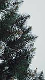 Штучна ялинка Снігова Королева 2.5 м зелена. Ялина засніжена. Штучна ялинка з білими кінчиками, фото 8