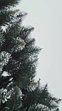 Штучна ялинка Снігова Королева 2.5 м зелена. Ялина засніжена. Штучна ялинка з білими кінчиками, фото 10