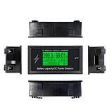 Цифровий энергометр з Bluetooth 300В 100А DC, ватметр, амперметр, вольтметр, фото 2