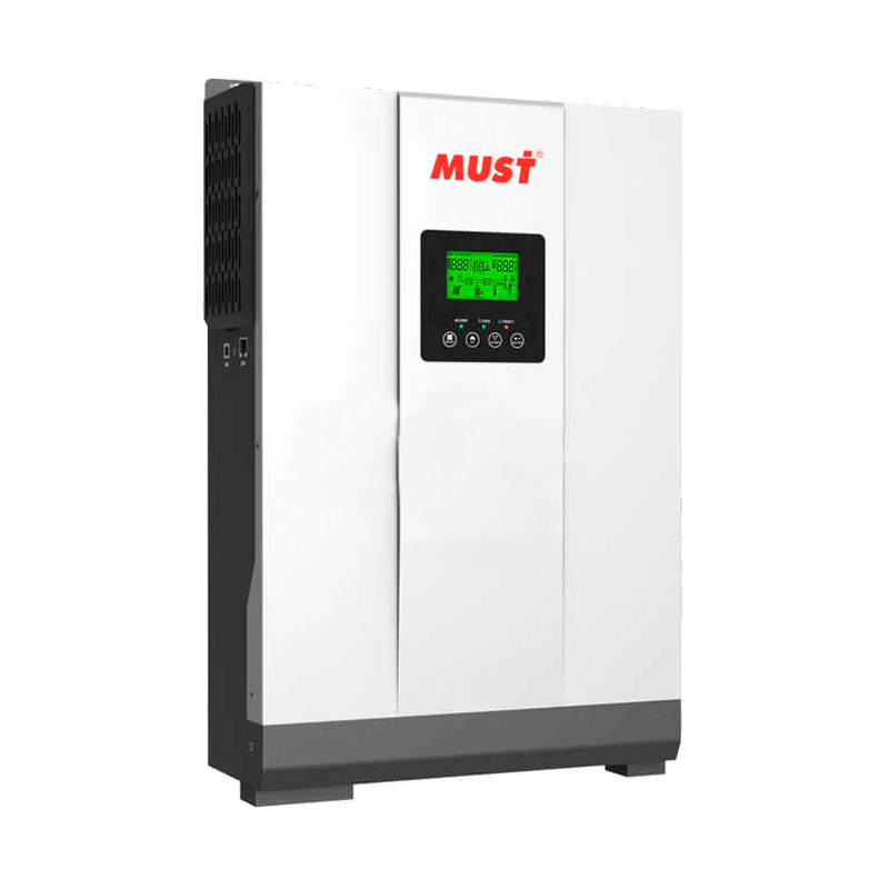 Гибридный Солнечный Инвертор Must PH18-3024 PLUS MPK 3000Вт, MPPT контролер, АКБ 24В