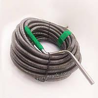 30 м, 12 мм Кріт, трос для прочищення каналізаційних труб, гнучкий та жорсткий