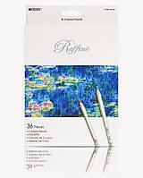 Карандаши цветные Marco Raffine 36 цветов 7100-36CB