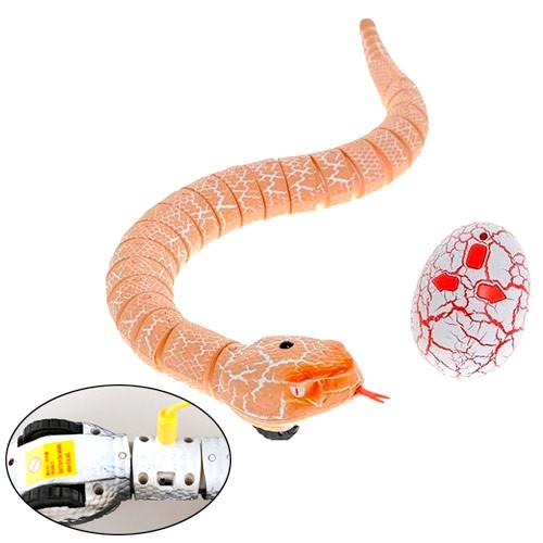 Змія радіокерована реалістична 38см акумуляторна Rattle Snake