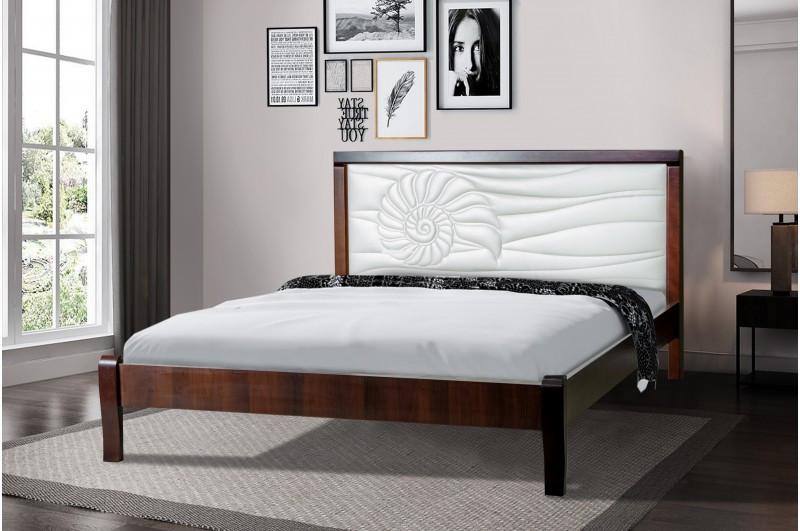 Кровать Аква, массив клена