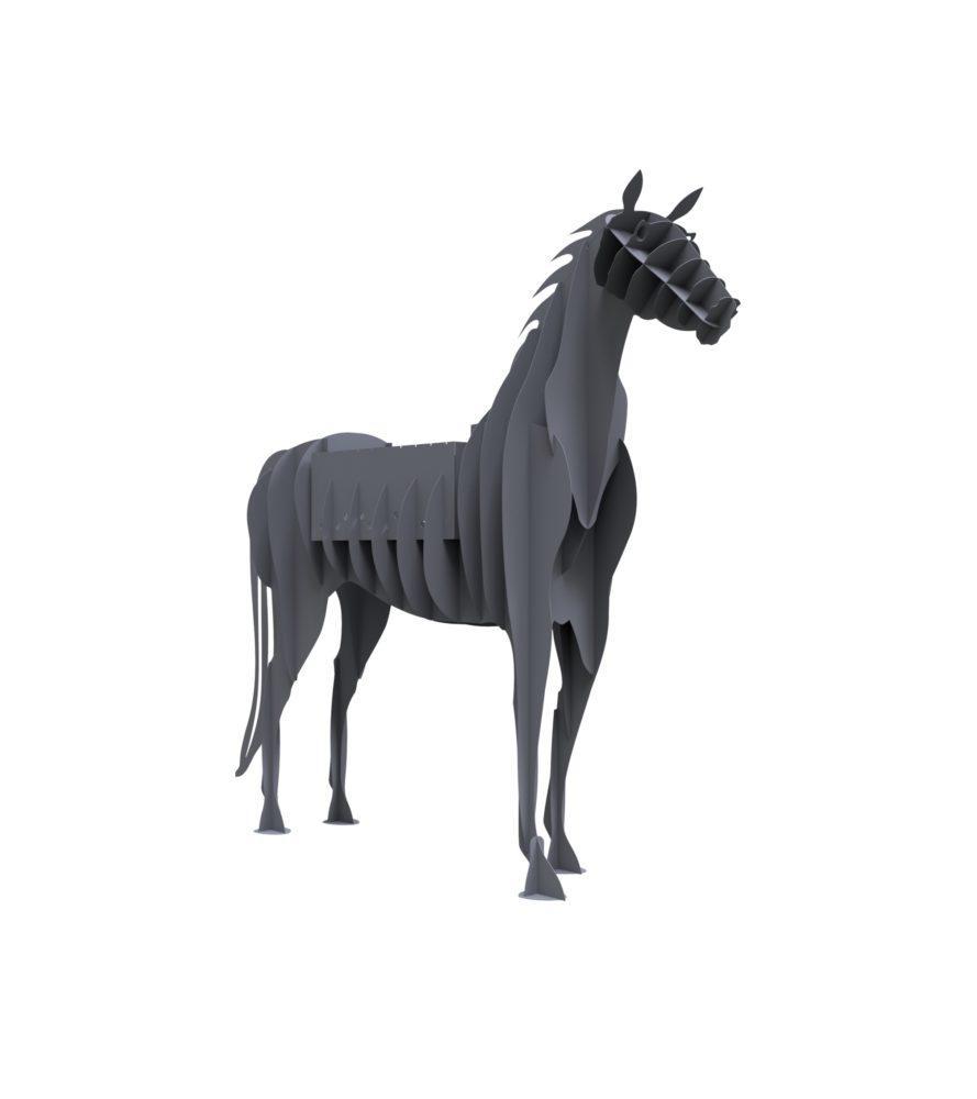 Мангал складной в виде лошади, мангалы звери для дома