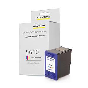 Картридж совместимый HP Officejet 5610 (цветной), повышенный ресурс (450 копий), аналог от Gravitone