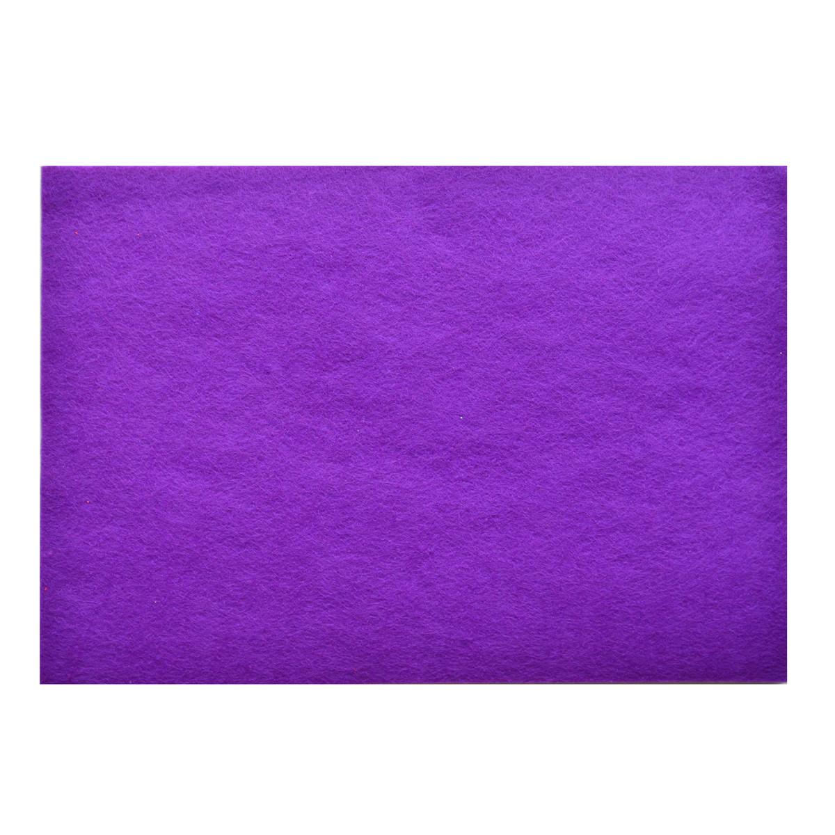 Набор Фетр Santi жесткий, пурпурный, 21*30см (10л)