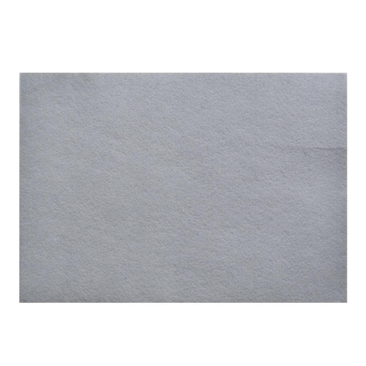 Набор Фетр Santi мягкий, светло-серый, 21*30см (10л)