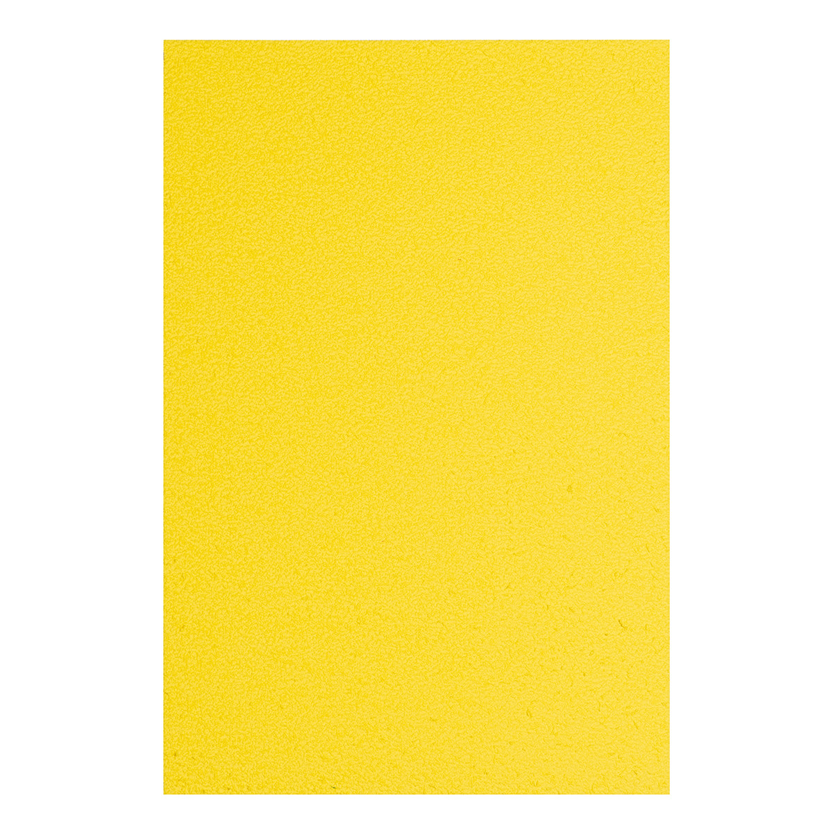 Фоамиран ЭВА желтый махровый, 200*300 мм, толщина 2 мм, 10 листов
