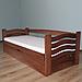 Кровать детская деревянная с подъемным механизмом Микки Маус (массив бука), фото 2