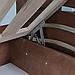 Кровать детская деревянная с подъемным механизмом Микки Маус (массив бука), фото 6