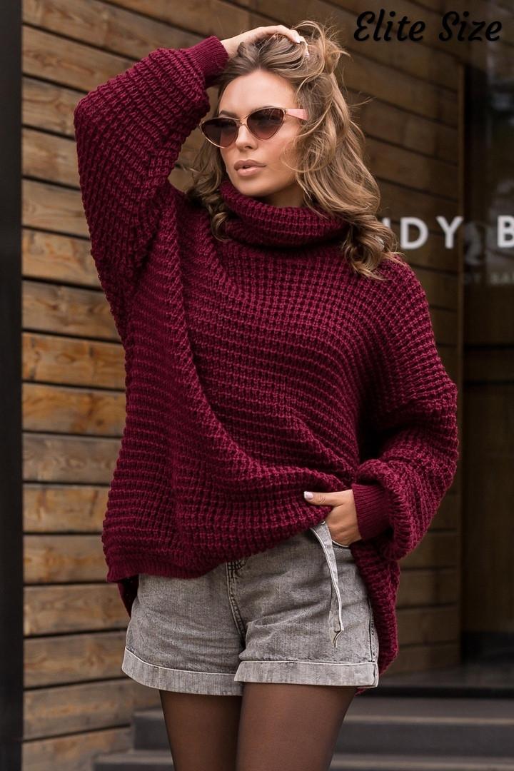 Стильный свитер    (размеры 46-58) 0257-55