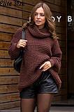 Стильный свитер    (размеры 46-58) 0257-55, фото 2