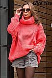Стильный свитер    (размеры 46-58) 0257-55, фото 3