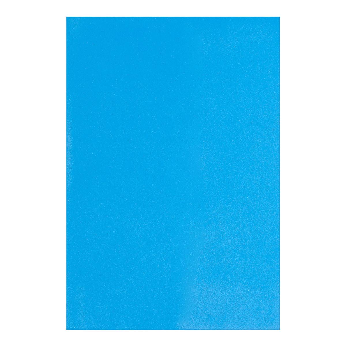 Фоамиран ЭВА ярко-голубой, 200*300 мм, толщина 1,7 мм, 10 листов