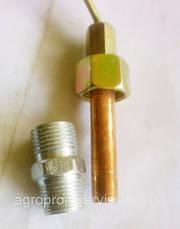Датчик механічний температури води+штуцер УТ-200 (МТЗ), фото 2