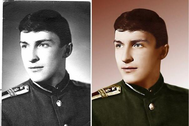 Придание цвета фотографиям цена Днепропетовск