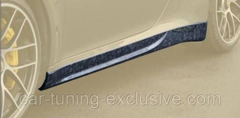 MANSORY side skirts lips for Porsche 992