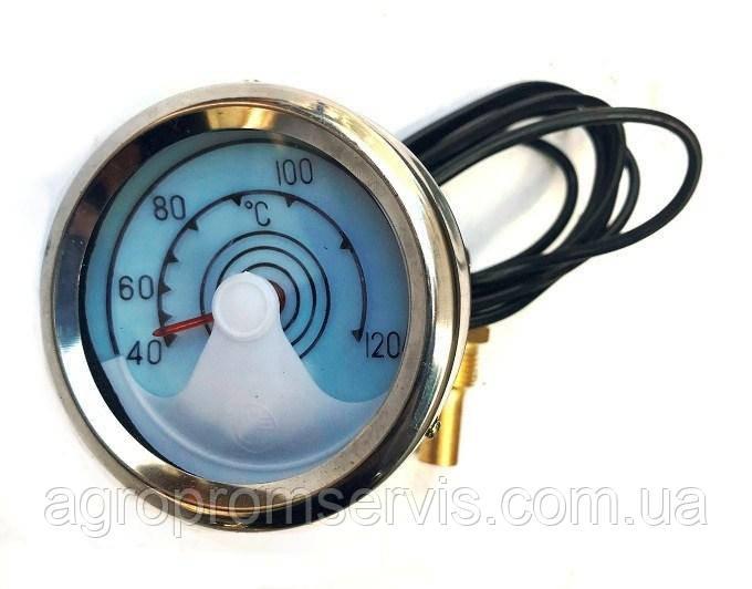 Датчик механический температуры воды+штуцер  УТ-200 (МТЗ)