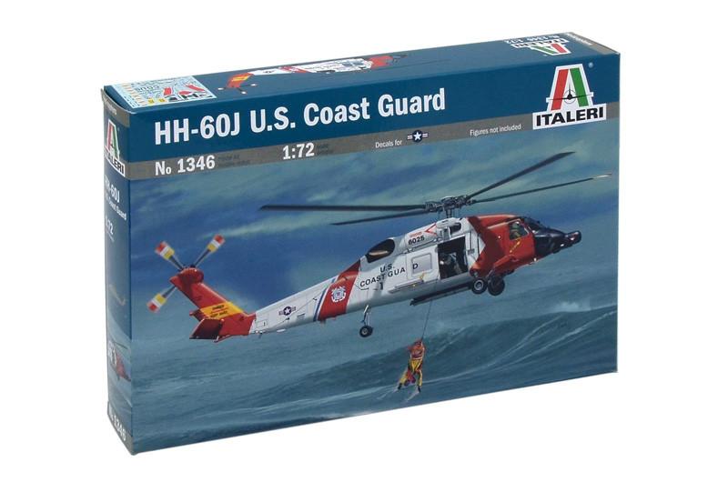 HH - 60J USCoast Guard. Сборная пластиковая модель вертолета. 1/72 ITALERI 1346