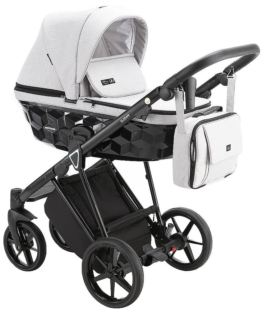 Детская универсальная коляска 2 в 1 Adamex Paolo TK-1
