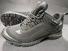 Кросівки термо чоловічі Adidas Climaproof чорні розмір 41 маломеркі