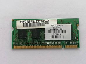 Оперативная память Micron DDR2 SODIMM 1GB PC2-6400S-666-12, фото 2
