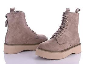 Женские зимние высокие ботинки