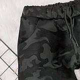 Женские спортивные брюки плотный трикотаж на меху, водонепроницаемая, р.42-44,44-46 Код 208Р, фото 9