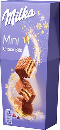 Пирожное бисквитное Milka мини шоко байт, 117г, фото 2