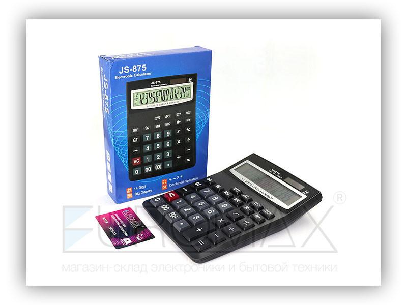 Калькулятор 1xAAA 60шт CAL-875