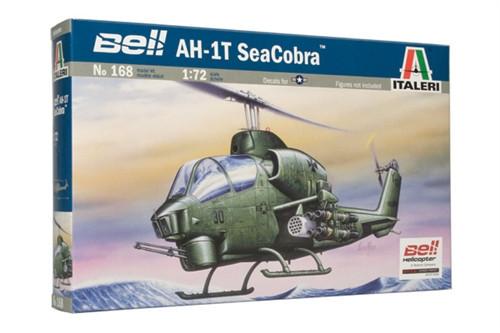 AH-1T SEA COBRA. Сборная модель вертолета в масштабе 1/72. ITALERI 168