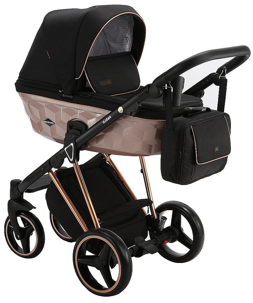 Детская универсальная коляска 2 в 1 Adamex Paolo Star-5