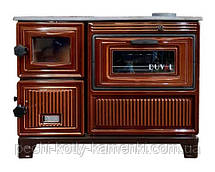 Печь-кухня EК-103 F Duval на дровах, угле с духовкой, фото 3