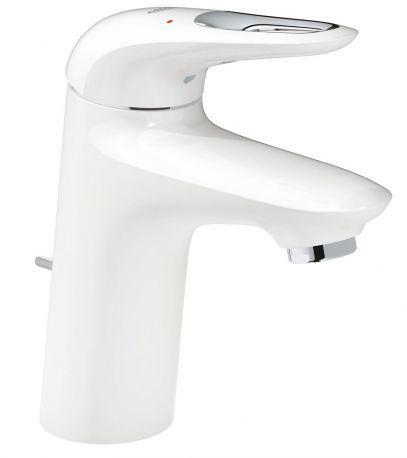 GROHE 33558LS3 Eurostyle new Змішувач для раковини білий/хром
