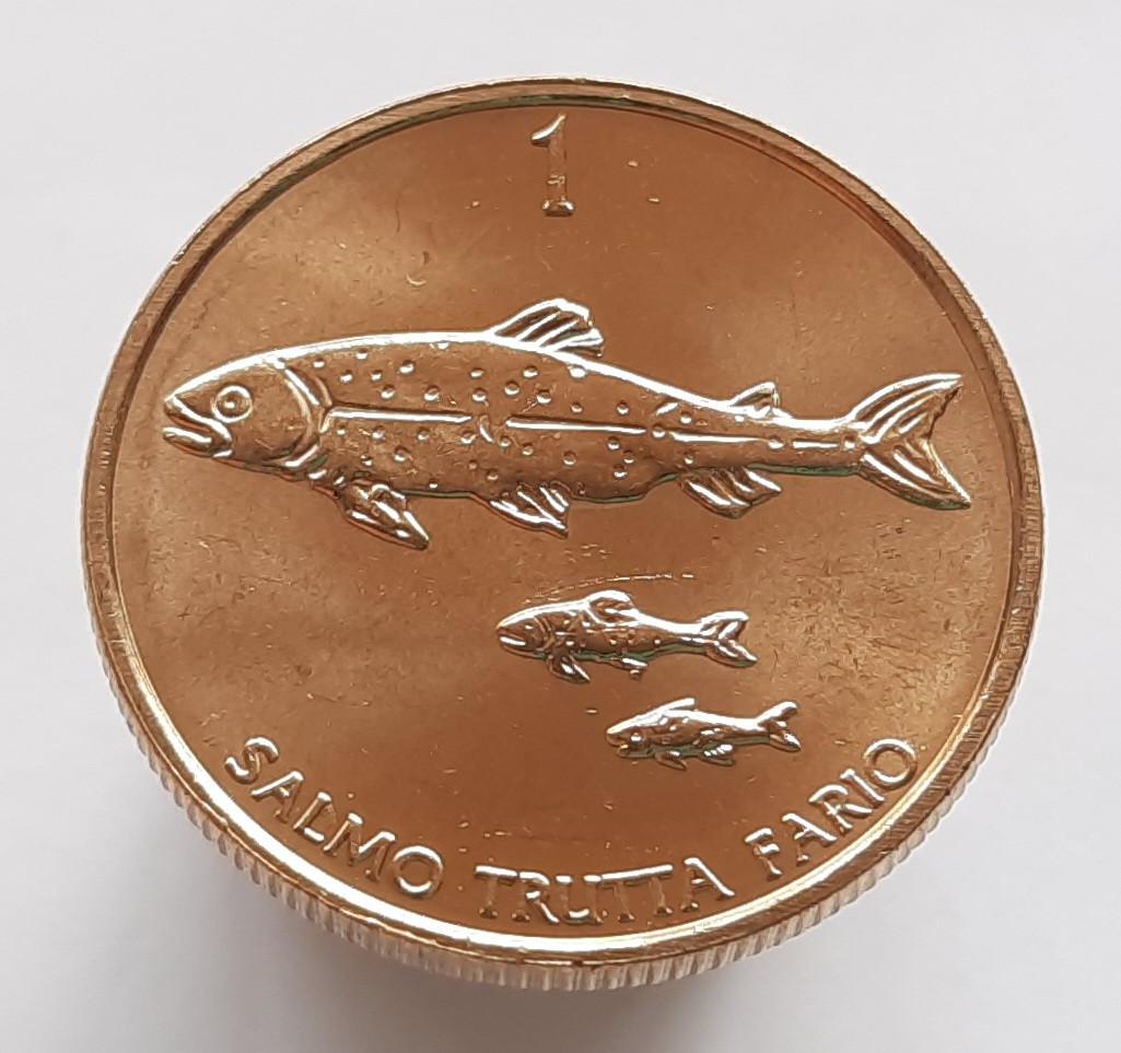 Словенія 1 толар 2004