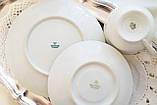 Немецкая чайная тройка, чашка, блюдце, тарелка, фарфор, Германия, K&A Krautheim,  Bavaria, фото 7