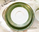 Немецкая чайная тройка, чашка, блюдце, тарелка, фарфор, Германия, K&A Krautheim,  Bavaria, фото 4
