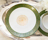 Немецкая чайная тройка, чашка, блюдце, тарелка, фарфор, Германия, K&A Krautheim,  Bavaria, фото 5