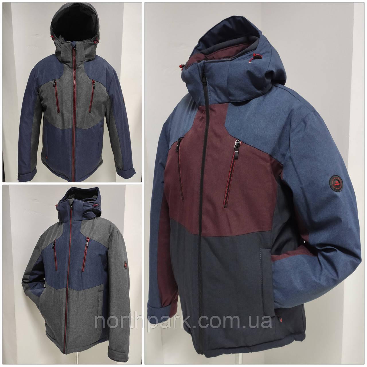 Молодіжна чоловіча зимова куртка VArt матова