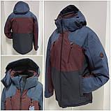 Молодіжна чоловіча зимова куртка VArt матова, фото 2
