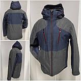 Молодіжна чоловіча зимова куртка VArt матова, фото 4